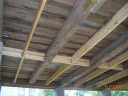 Sill and Joist Replacement