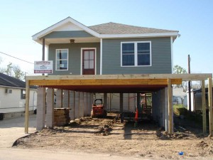 House Raising in Jefferson New Orleans, Louisiana - During