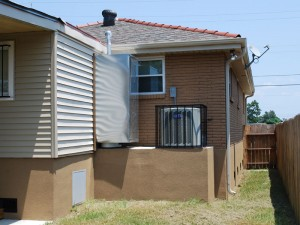 Elevated home with AC platform New Orleans