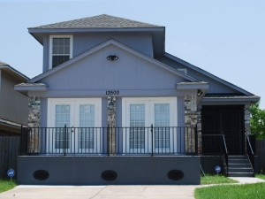 House Raising in New Orleans, Louisiana - After