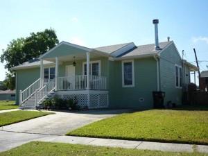 Raised house in Arabi - New Orleans