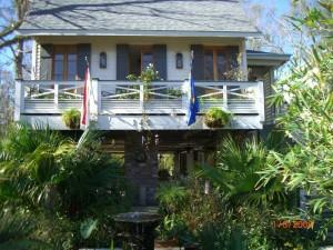 Raised house in Mandeville - Louisiana