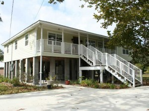 House Raising in New Orleans - Slidell, Louisiana - After