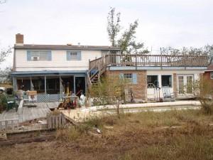 House Raising in New Orleans - Slidell, Louisiana - Before