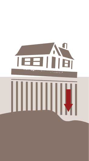 house-elevation-sinking-house