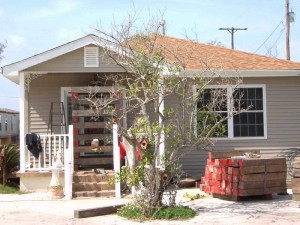 House Raising in New Orleans - LaFitte, Louisiana - Before