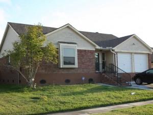 House Raising of slab house in Harvey, Louisiana - After