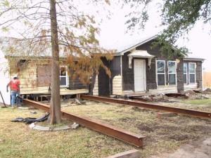 House Raising in Chalmette, Louisiana - Before