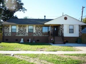 House Raising in Westwego, Louisiana - After