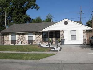 House Raising in Westwego, Louisiana - Before