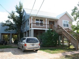 House Raising in Slidell, Louisiana - After