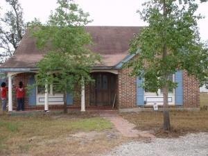 House Raising in Slidell, Louisiana - Before