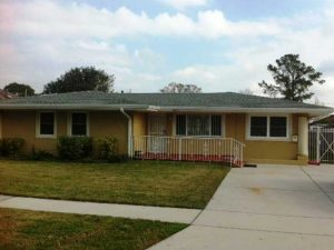 Slab House to be Raised in Metairie - Jefferson Parish - Before