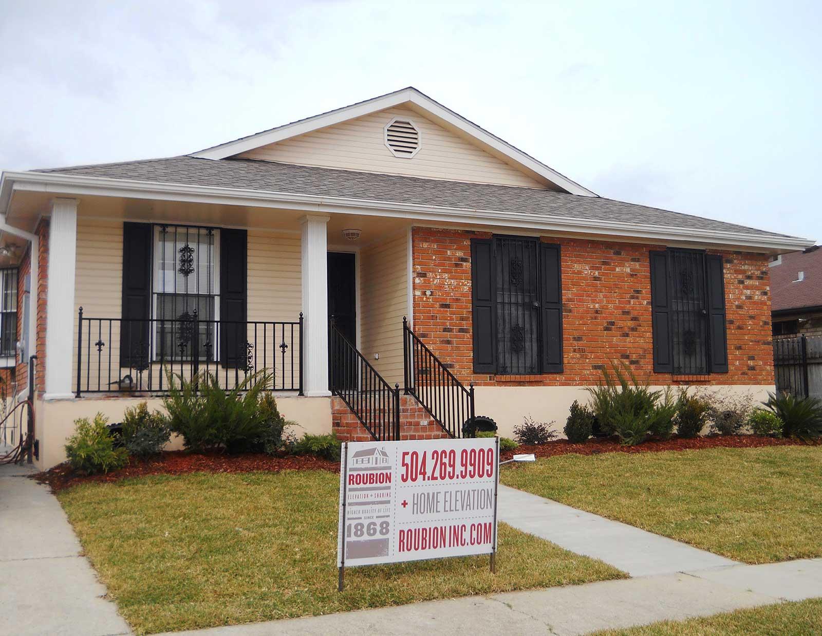 Raising A House In Orleans Parish