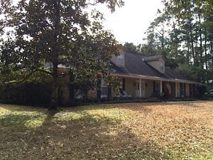 Home elevation - Before - Covington - St. Tammany Parish
